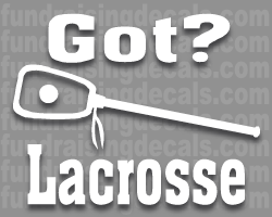 got lacrosse decal
